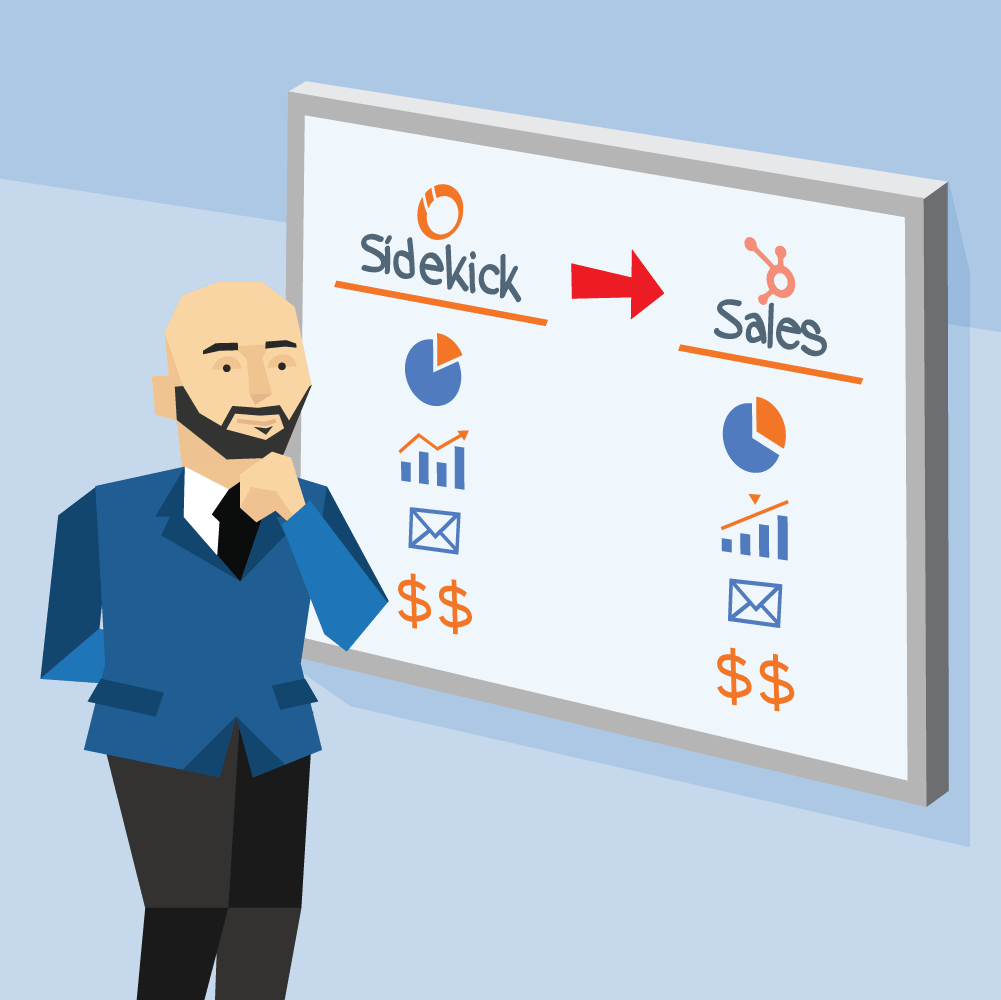 HubSpot Sidekick to HubSpot Sales